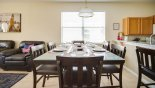 Villa rentals near Disney direct with owner, check out the Dining table with 6 comfortable chairs