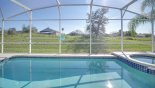Villa rentals near Disney direct with owner, check out the Superb south facing pool & spa with open views