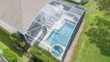Villa rentals near Disney direct with owner, check out the Aerial view of our pool