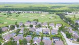 Aerial view of Highlands Reserve & golf course from Lucerne 4 Villa for rent in Orlando