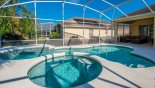 Villa rentals in Orlando, check out the Large pool & spa with conservation views