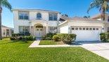 Front of villa from Santa Barbara 1 Villa for rent in Orlando