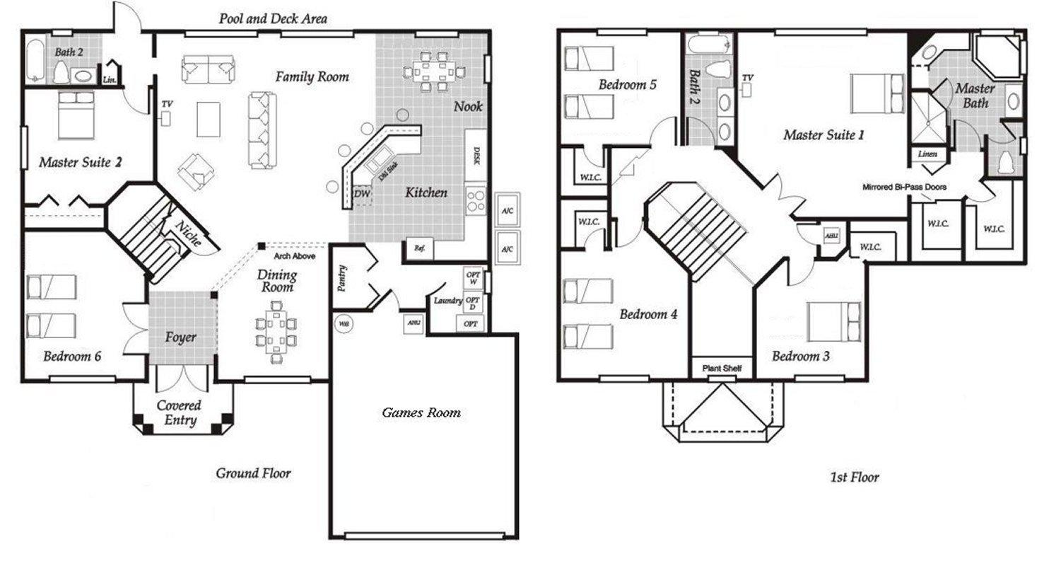 Santa Barbara 1 Floorplan
