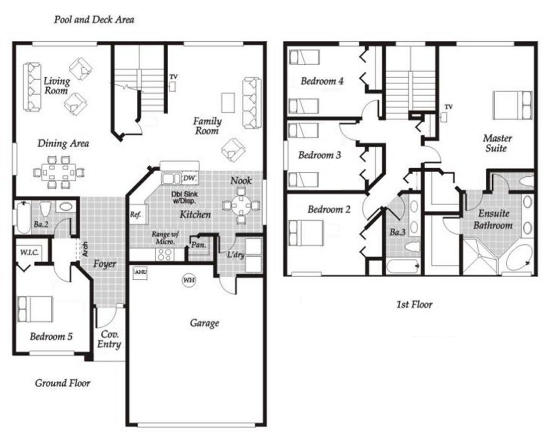 Monticello 3 Floorplan