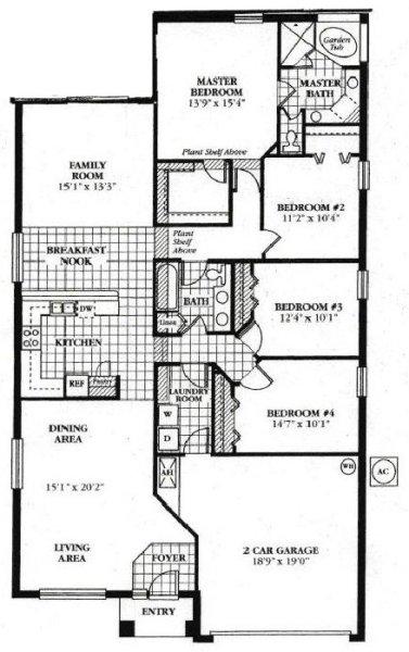 Wynnewood 4 Floorplan