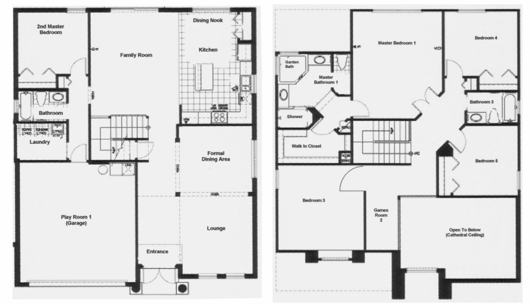 Birchwood 3 Floorplan