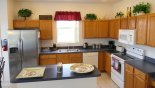 Villa rentals in Orlando, check out the Fully fitted kitchen with quality appliances and ample countertop space