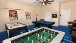 Orlando Villa for rent direct from owner, check out the Game Room