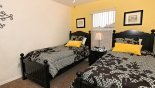 Villa rentals in Orlando, check out the Upstairs twin bedroom 3