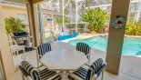 Villa rentals near Disney direct with owner, check out the Lanai with the grill