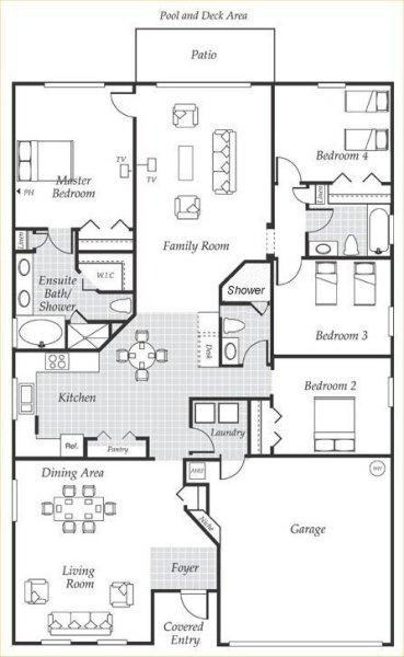 Silver Maple + 1 Floorplan