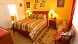 Silver Maple + 1 Villa rental near Disney with Master bedroom 1 with queen sized bed