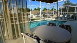 Spacious rental Highlands Reserve Villa in Orlando complete with stunning Wonderful pool with Gazebo providing welcome shade