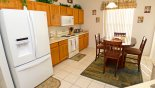 Orlando Villa for rent direct from owner, check out the Fully fitted kitchen with breakfast nook