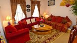 Orlando Villa for rent direct from owner, check out the Relax in the living room