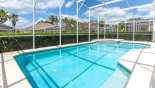 Orlando Villa for rent direct from owner, check out the Privacy hedging to all sides of the pool