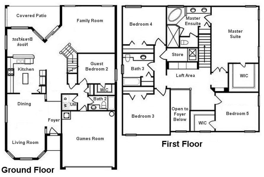 Canterbury 10 Floorplan