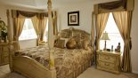 Master Bedroom Suite with this Orlando Villa for rent direct from owner