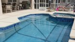 Pool & Spa from Canterbury 10 Villa for rent in Orlando