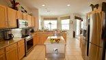 Kitchen - www.iwantavilla.com is the best in Orlando vacation Villa rentals