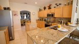 Spacious rental Highlands Reserve Villa in Orlando complete with stunning Kitchen
