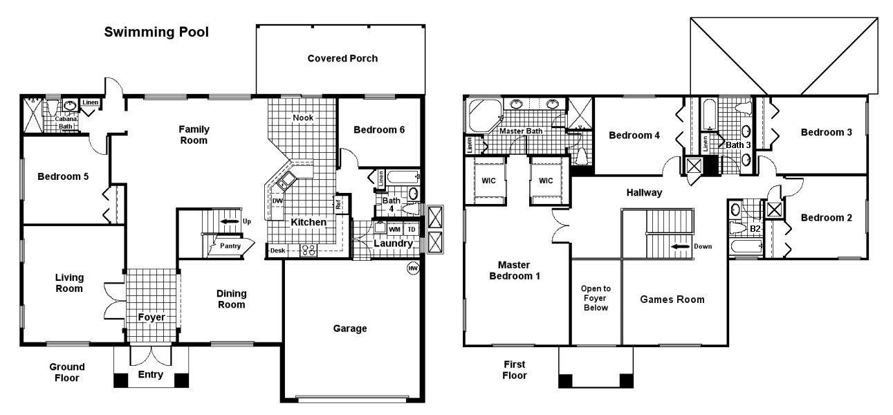 Palm Beach 2 Floorplan