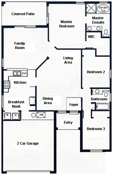 Madison 9 Floorplan