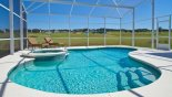 Villa rentals in Orlando, check out the Pool and spa