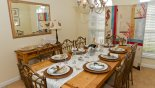 Orlando Villa for rent direct from owner, check out the Dining room