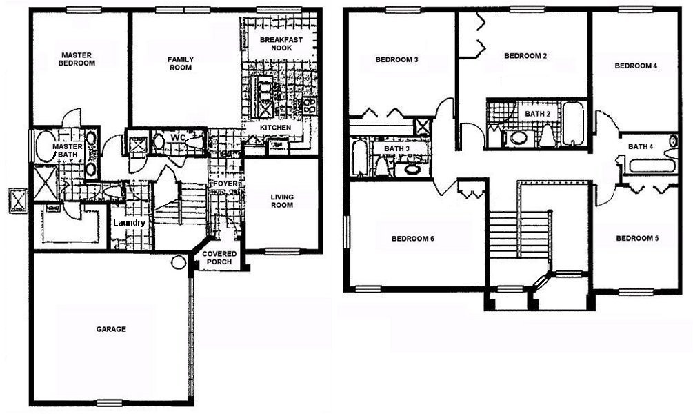 Marlborough 2 Floorplan