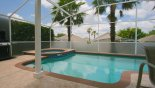 A private space - not overlooked! - www.iwantavilla.com is the best in Orlando vacation Villa rentals