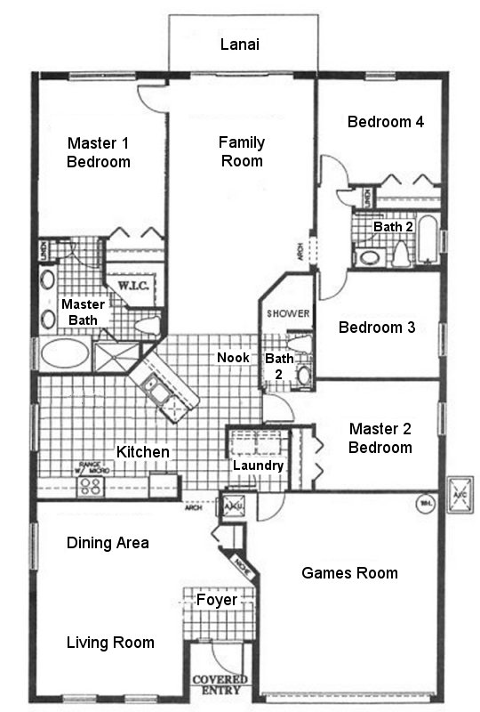 Silver Maple + 2 Floorplan