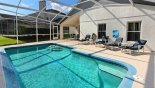 Orlando Villa for rent direct from owner, check out the Attractive pool deck bathed in sun