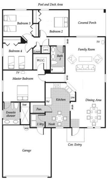 Maple 1 Floorplan