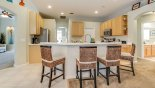 Breakfast bar with 4 bar stools from Highlands Reserve rental Villa direct from owner