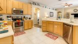 Orlando Villa for rent direct from owner, check out the Fully fitted kitchen with stainless steel appliances
