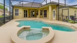 Large pool deck gets the sun all day with this Orlando Villa for rent direct from owner