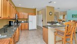 Orlando Villa for rent direct from owner, check out the Fully fitted kitchen with quality appliances and granite counter tops