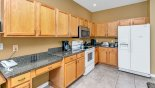 Well equipped kitchen with Keurig coffee maker with this Orlando Villa for rent direct from owner