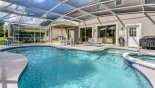 Large east facing pool gets the sun all day - www.iwantavilla.com is the best in Orlando vacation Villa rentals