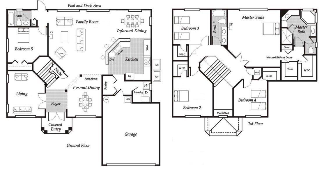 Santa Barbara 3 Floorplan