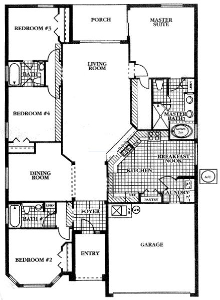 Mayfield 2 Floorplan