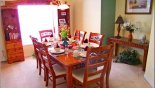 Dining Room from Highlands Reserve rental Villa direct from owner