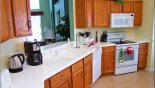 Orlando Villa for rent direct from owner, check out the Kitchen with arched opening onto living room