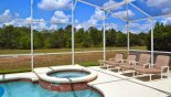 Orlando Villa for rent direct from owner, check out the South west facing pool with 4 sun loungers