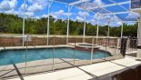 Villa rentals in Orlando, check out the Pool showing pool safety fence erected
