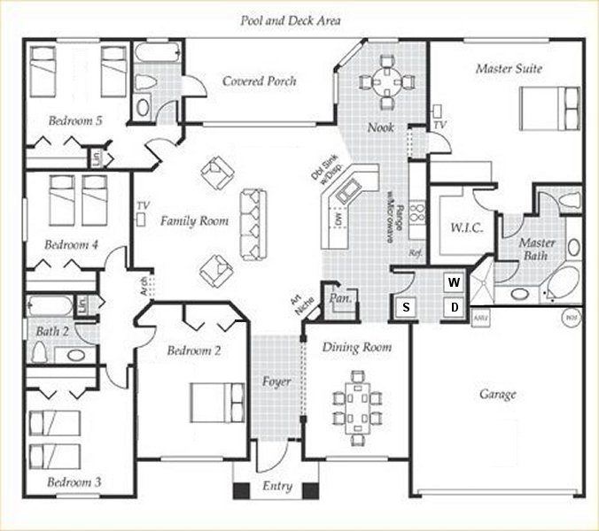 Emerald + 2 Floorplan