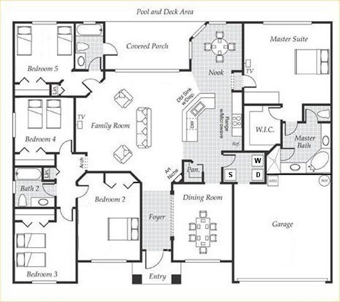 Emerald + 2 Floorplan