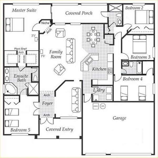 Dartmouth 2 Floorplan