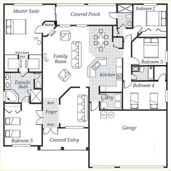 Dartmouth 2 Floorplan
